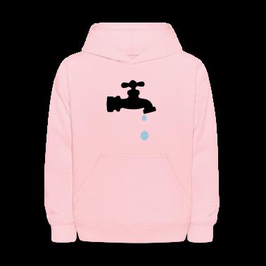 Pink faucet drip Sweatshirts