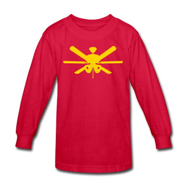 Red ceiling fan Kids Shirts