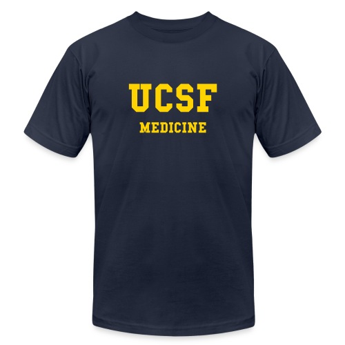 UCSF MEDICINE [back: CLASS OF 2011] - Men's Fine Jersey T-Shirt