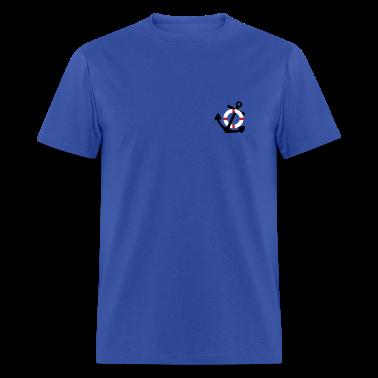 Royal blue Life Saver and Anchor T-Shirts