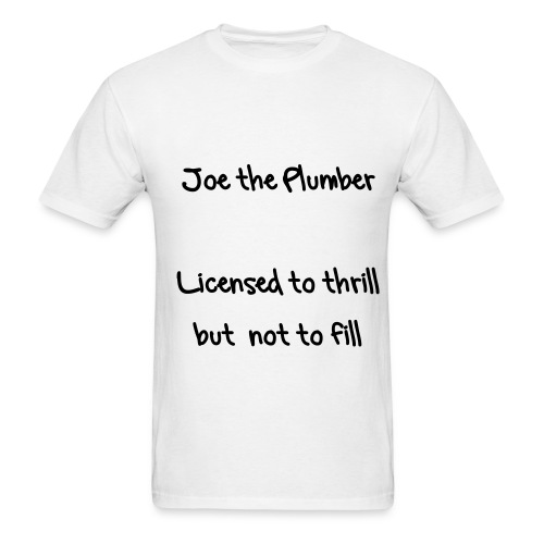 Joe the plumber - Men's T-Shirt
