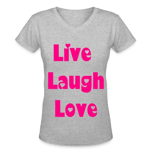3 Ls  - Women's V-Neck T-Shirt