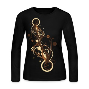 Cool Regal Desiger Graphic - Women's Long Sleeve Jersey T-Shirt