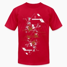 Cool Vector Shapes American Apparel T-shirt