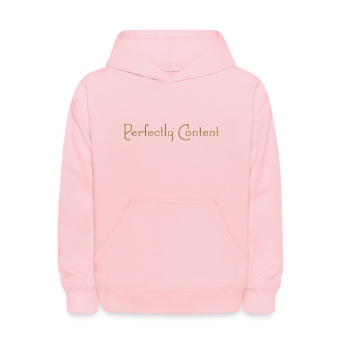 Perfectly Content/Girls - Kids' Hoodie