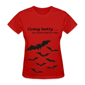 Going Batty - Women's T-Shirt