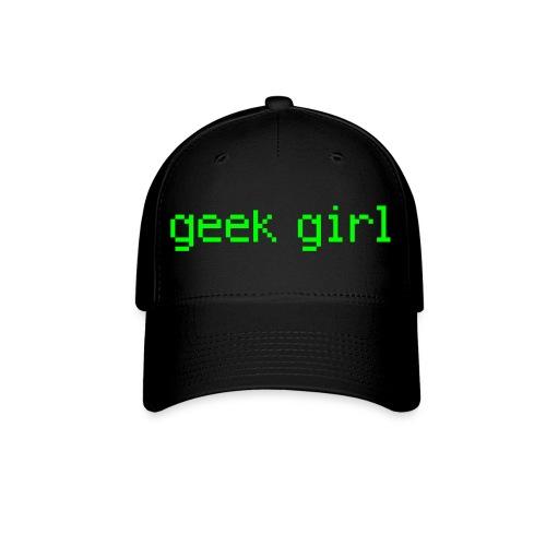 geek girl! - Baseball Cap