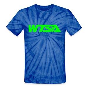 WTSA  Tie Die T-Shirt - Unisex Tie Dye T-Shirt