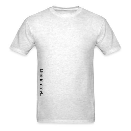 Original Lightweight Tee (Gry/Blk) - Men's T-Shirt