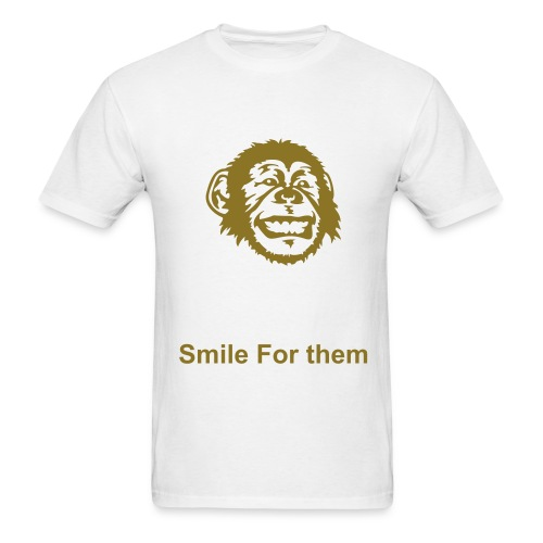 Smile For Them - Men's T-Shirt