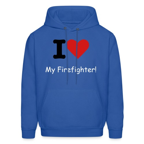 Fire Fighter - Men's Hoodie