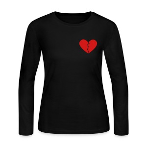 Broken Heart - Women's Long Sleeve Jersey T-Shirt
