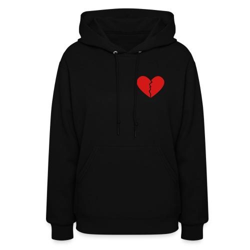 Broken Heart - Women's Hoodie