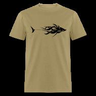 T-Shirts ~ Men's T-Shirt ~ Tribal Fish