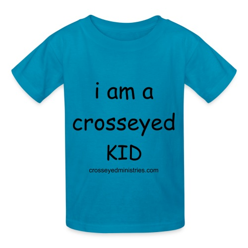 Crosseyed Ministries Child's TEE - Kids' T-Shirt