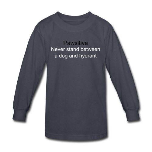 Never Stand - Kids' Long Sleeve T-Shirt