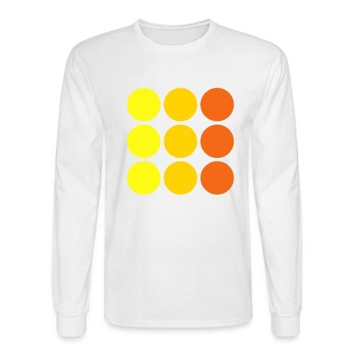 NINE DOTS - Men's Long Sleeve T-Shirt