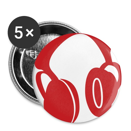music buttons - Buttons small 1'' (5-pack)