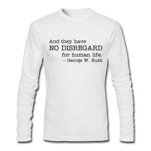 No Disregard - Men's Long Sleeve T-Shirt by Next Level