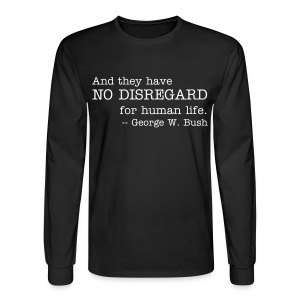 No Disregard - Men's Long Sleeve T-Shirt