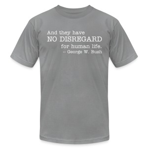 No Disregard - Men's T-Shirt by American Apparel