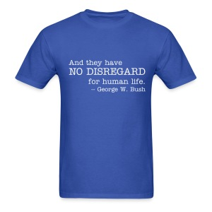 No Disregard - Men's T-Shirt