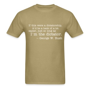 I'm the dictator - Men's T-Shirt