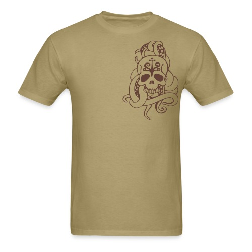 Tenticle Skull (mens) - Men's T-Shirt