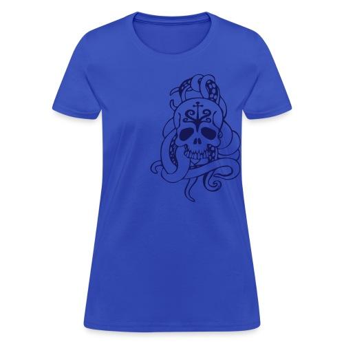Tenticle Skull (womens) - Women's T-Shirt