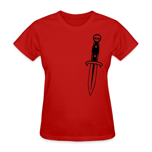 Gamblers Dagger (womens) - Women's T-Shirt