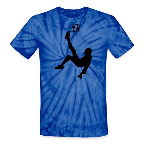 Soccer Player - Unisex Tie Dye T-Shirt