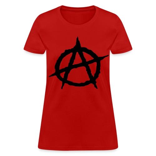 Women's Anarchy T-Shirt - Women's T-Shirt