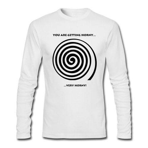 Horny - Men's Long Sleeve T-Shirt by Next Level