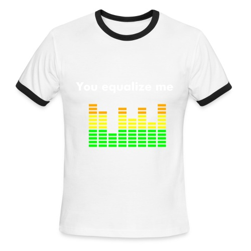 Equalizer - Men's Ringer T-Shirt