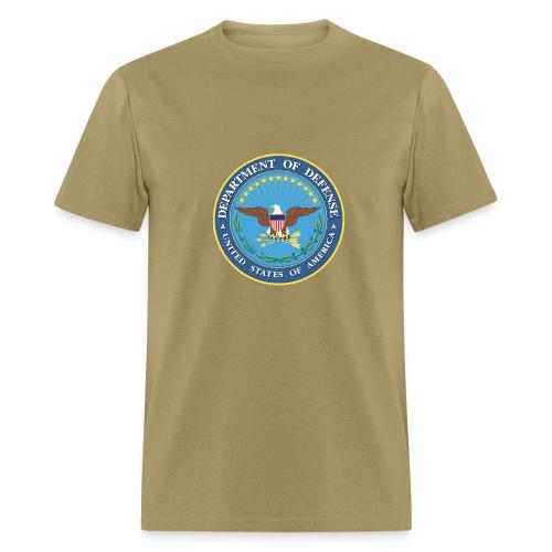 DoD seal - Men's T-Shirt
