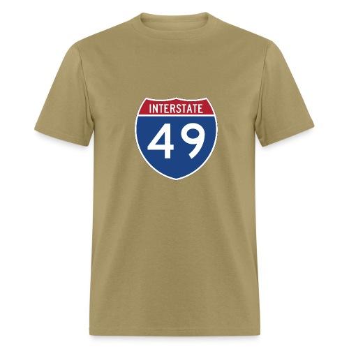 Interstate 49 sign - AUTONAUT.com - Men's T-Shirt