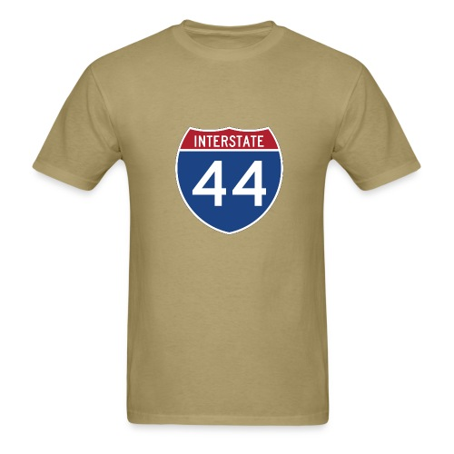 Interstate 44 sign - AUTONAUT.com - Men's T-Shirt