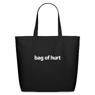 Bags & backpacks ~ Eco-Friendly Cotton Tote ~ Tote Bag of Hurt