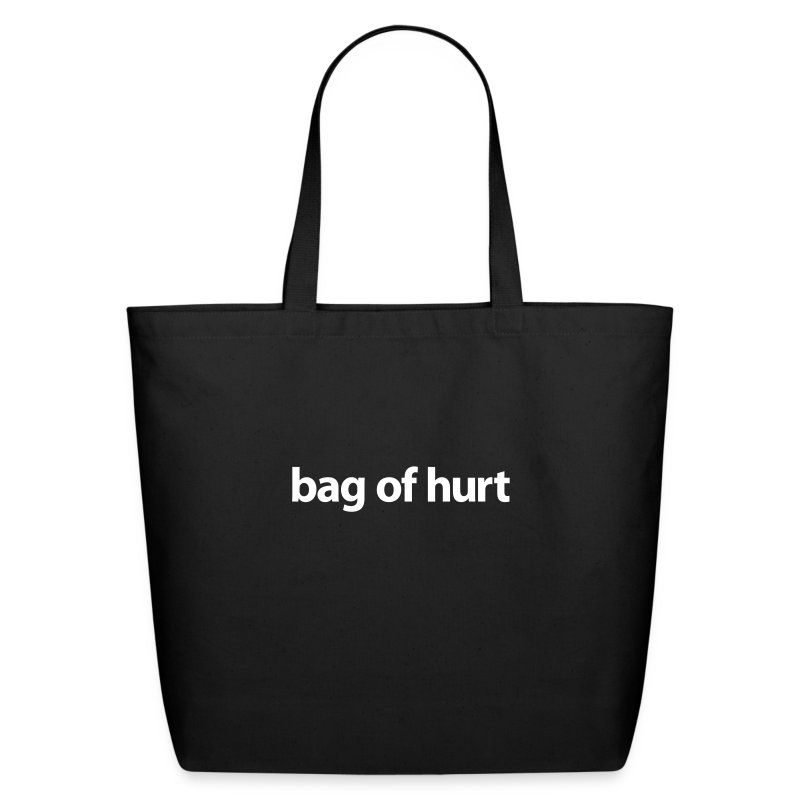 Tote Bag of Hurt - Eco-Friendly Cotton Tote
