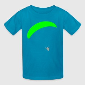 Orange Paraglider Kids Shirts - Kids' T-Shirt