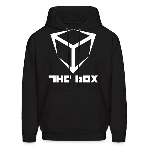 The Box Logo Hoody (flock print) - Men's Hoodie