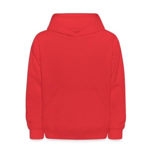 Kid's Hooded Sweatshirt (Bloody Red!) - Kids' Hoodie