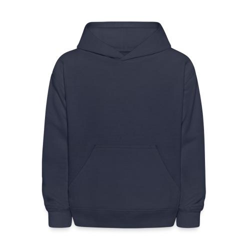 Kid's Hooded Sweatshirt (Navy Blue - Like The Royal Navy!) - Kids' Hoodie