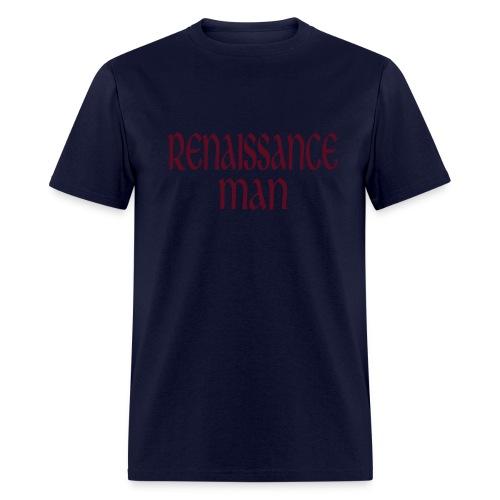 Kool Kids Tees 'Renaissance Man' Men's LW Tee in Navy - Men's T-Shirt