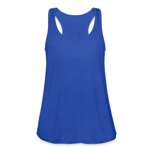 Navy love_formula_lim Women's T-shirts - Women's Flowy Tank Top by Bella