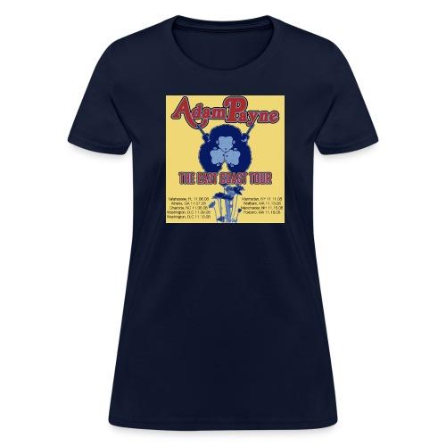 The East Coast Tour Shirt! - Women's T-Shirt