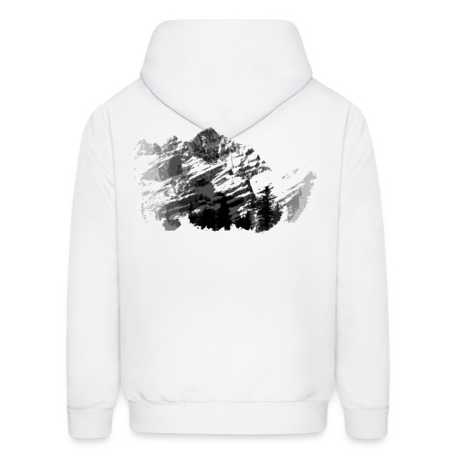 COOL Snow & Mountain Design Hoodies - Men's Hoodie
