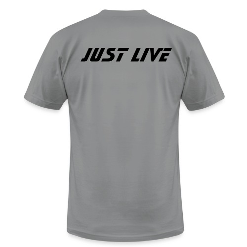 1984- GREY - Men's Fine Jersey T-Shirt