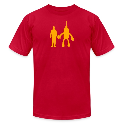 Red and Orange - Men's  Jersey T-Shirt