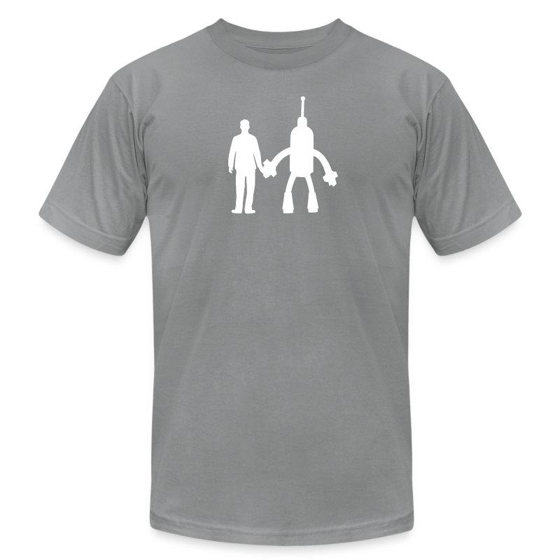 CHOOSE the color of your shirt! - Men's Fine Jersey T-Shirt